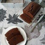 Chocolate espresso pound cake