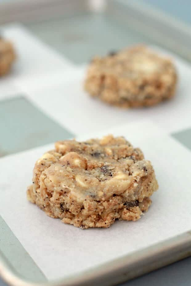 Compost cookies cookie dough