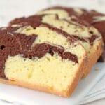 Anna Olson's marble pound cake
