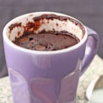 How do you make a mug cake without eggs
