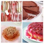 Adieu les mitaines and a few rhubarb recipes