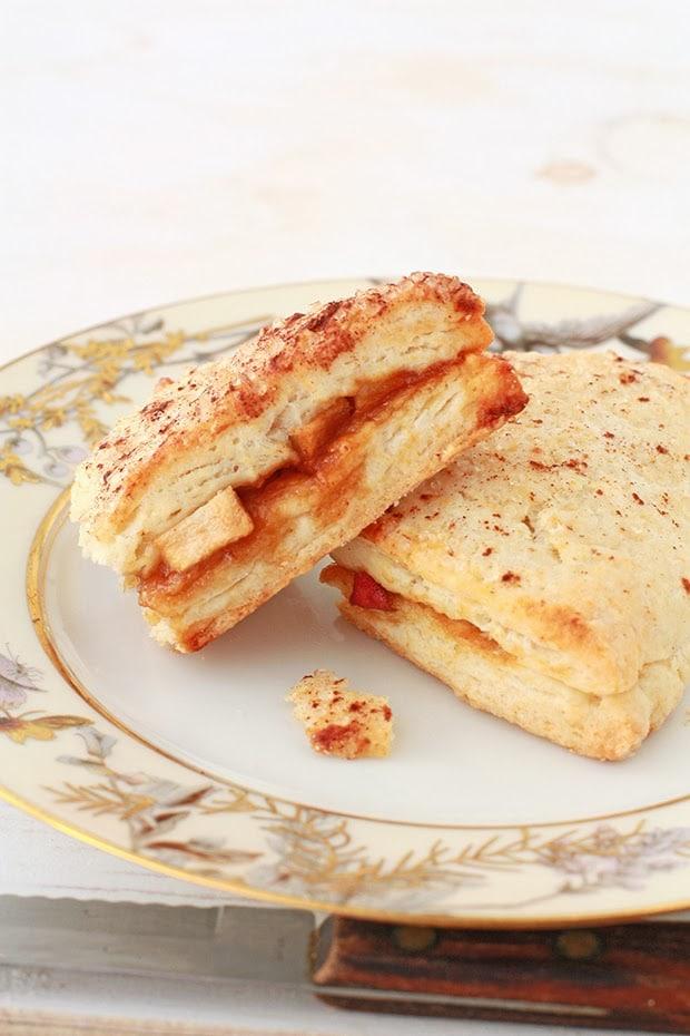 apple stuffed scones   kitchen heals soul