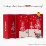 Advent calendar: 24 days of tea by DAVIDs TEA