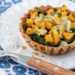 Gluten-free kale and squash tarts