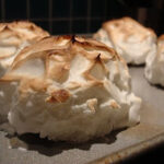 DB: I heart brown butter in a Baked Alaska and Ice Cream Petits Fours