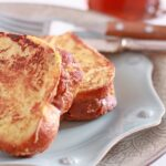 Stuffed brioche French toast