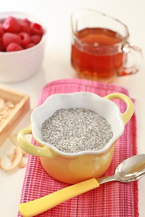 chia-seed pudding
