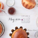 Happy May! & a desktop calendar
