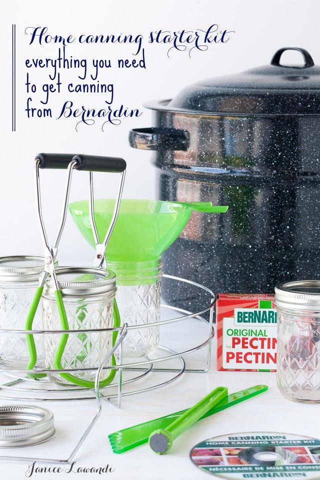 Home canning starter kit