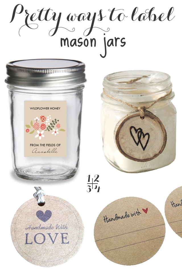 mason jar labels With how to make labels for jars