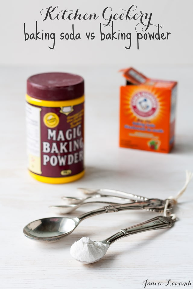 Kitchen geekery_baking soda vs baking powder