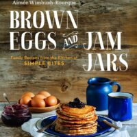 brown eggs jam jars