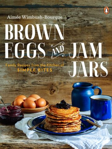 brown eggs jam jars