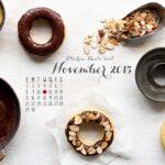 2015 November desktop calendar