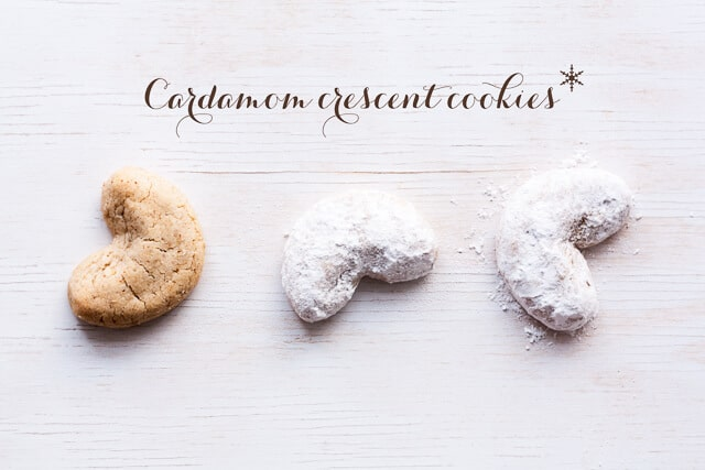 Cardamom Crescents Recipe — Dishmaps