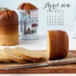 April 2016 desktop calendar