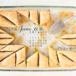 June 2016 desktop calendar