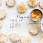 May 2016 desktop calendar