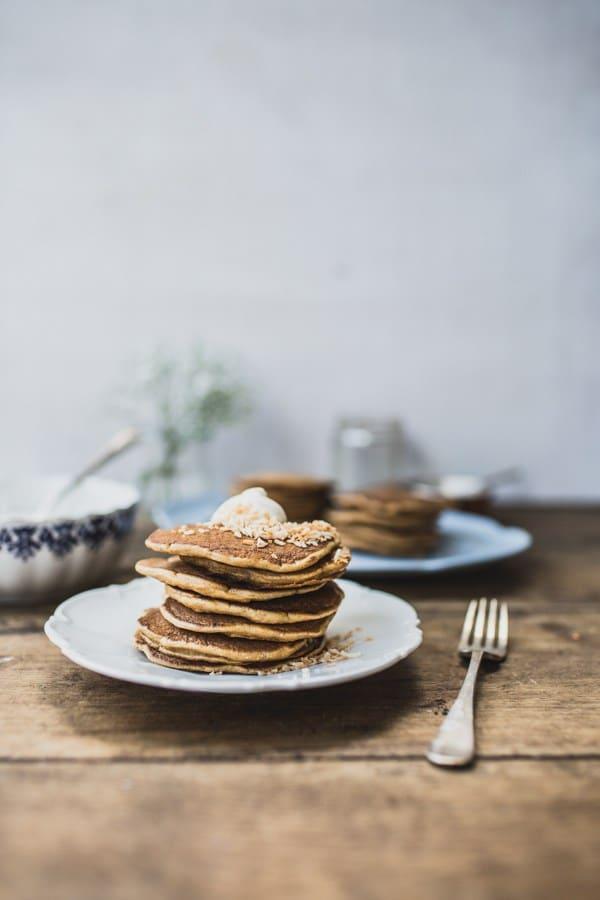 Carrot-Cake-Pancakes_Top with Cinnamon