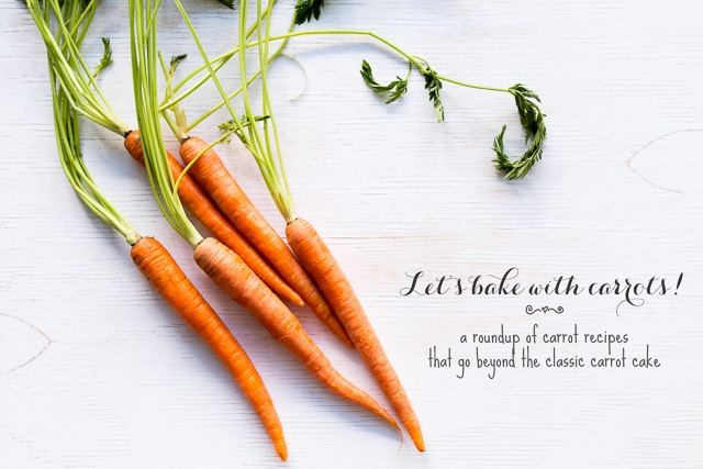 Let's bake with carrots
