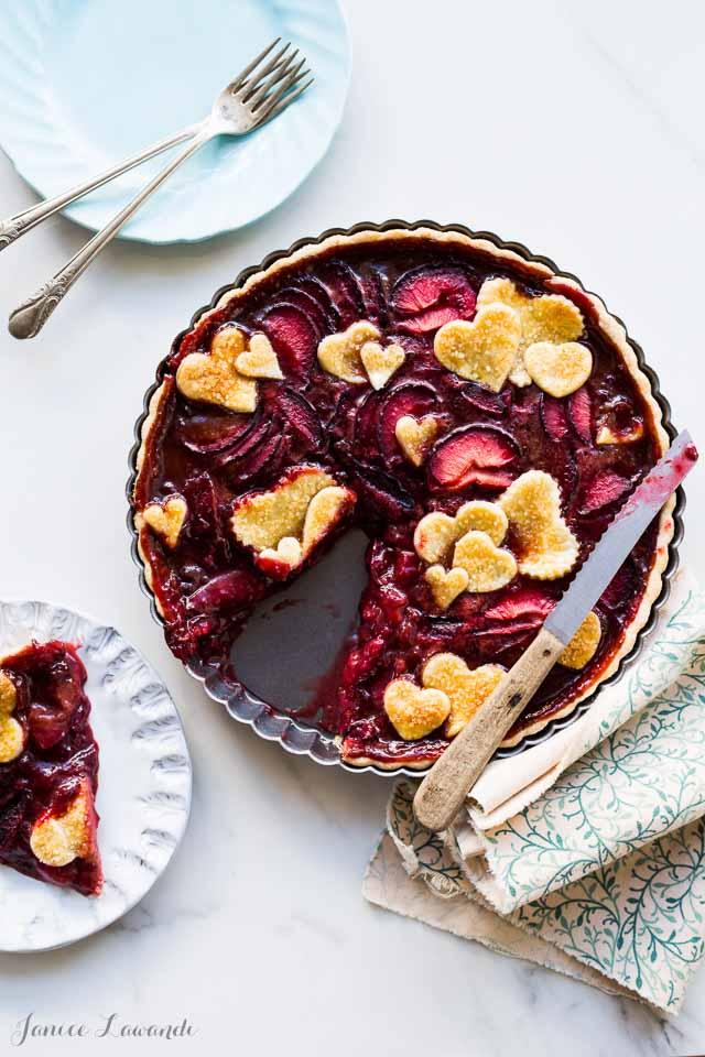 Plum tart with muscovado | @ktchnhealssoul