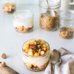 SweeTango apple pie yogurt parfait