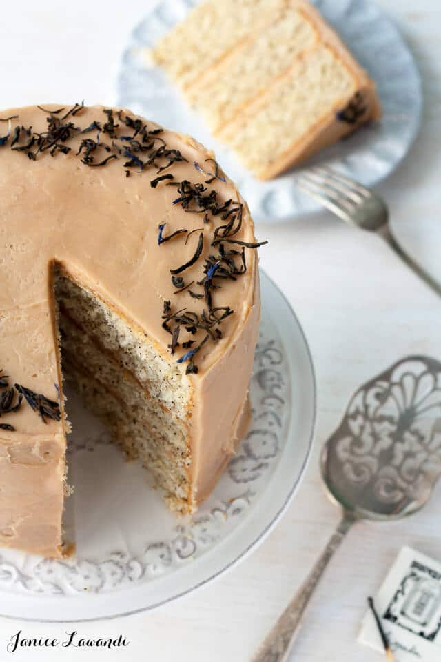 Earl Gray Cake Recipe