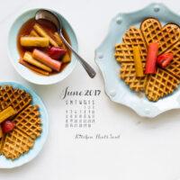 2017_June desktop calendar