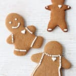Cute little gingerbread people