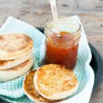 Honey apricot jam