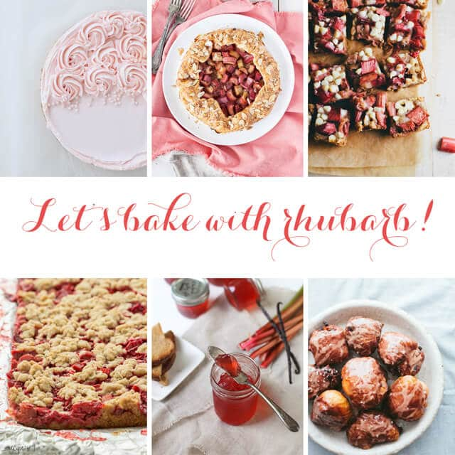 Let's bake with rhubarb-best rhubarb recipes roundup