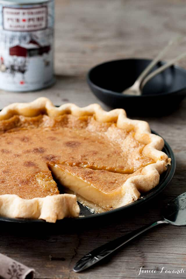 Maple-syrup pie