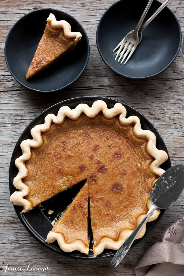 Maple syrup pie_