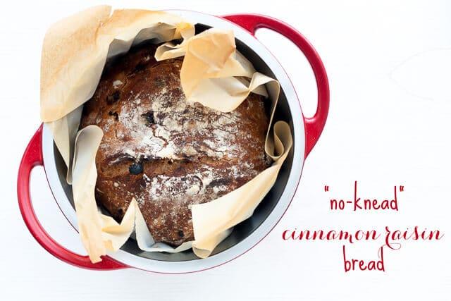 no-knead raisin bread