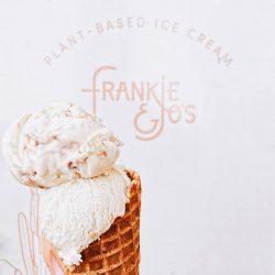 Ice cream at Frankie & Jo's