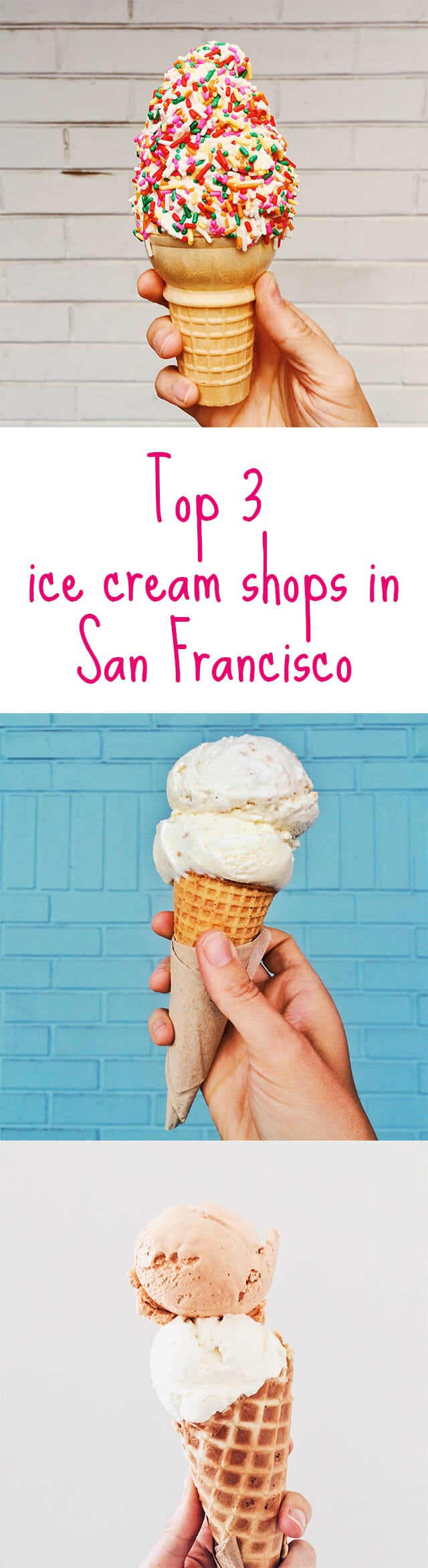 Top 3 ice cream shops in San Francisco - here's a rundown of the best ice cream in San Francisco