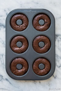 Baked Chocolate Donuts, not fried
