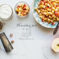 November 2017 desktop calendar free download