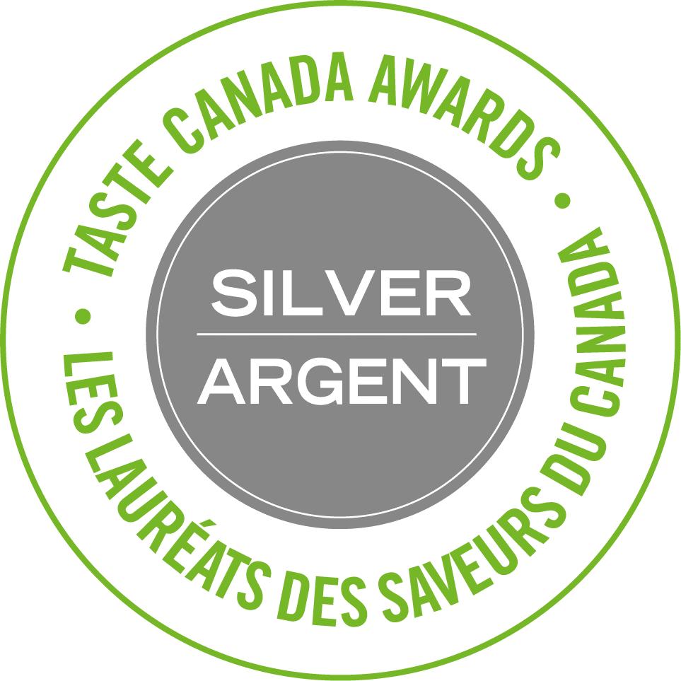 Taste Canada Silver Winner
