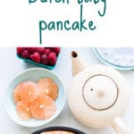 Dutch baby pancake recipe from the Vanilla Bean Baking Book by Sarah Kieffer